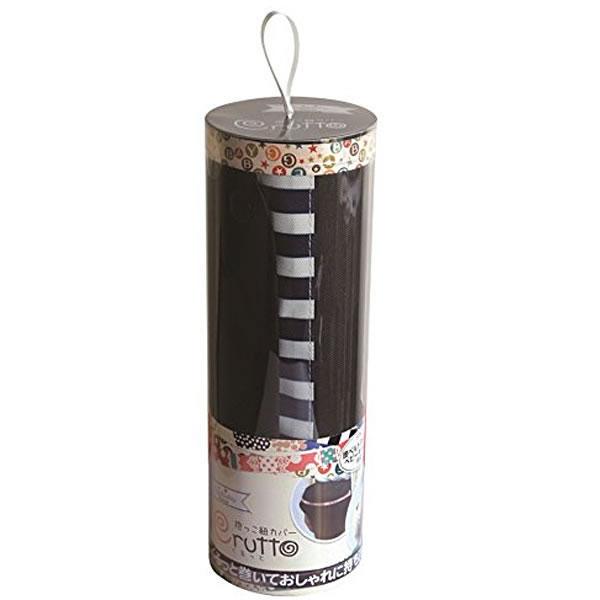 ケイジェンシー エジソン 抱っこひもカバー くるっとボーダーNB(ブラック)箱/ケース売 48入