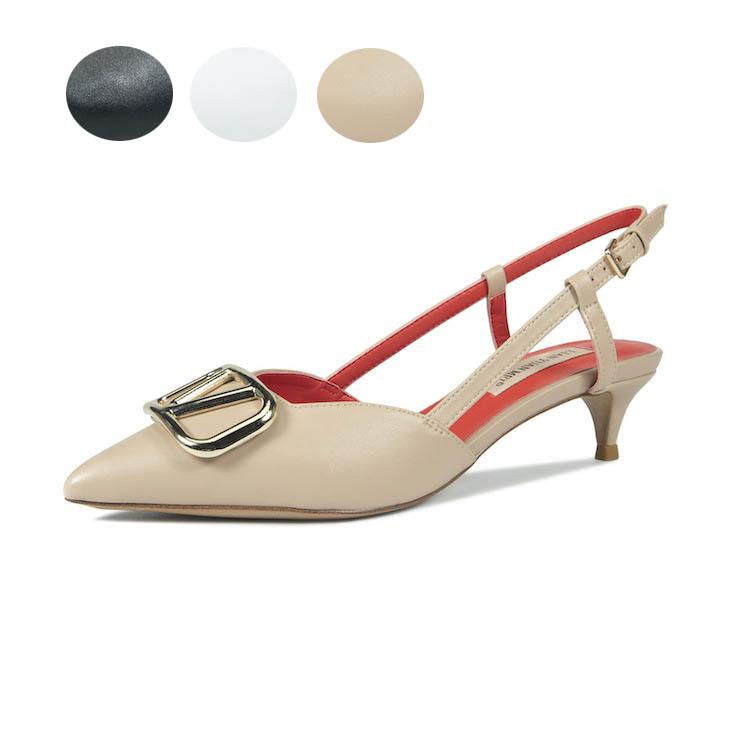【海外買付】2020 レディース 靴 サンダル 美脚サンダル ローヒール  靴 通勤用 シューズ ポインテッドトゥ