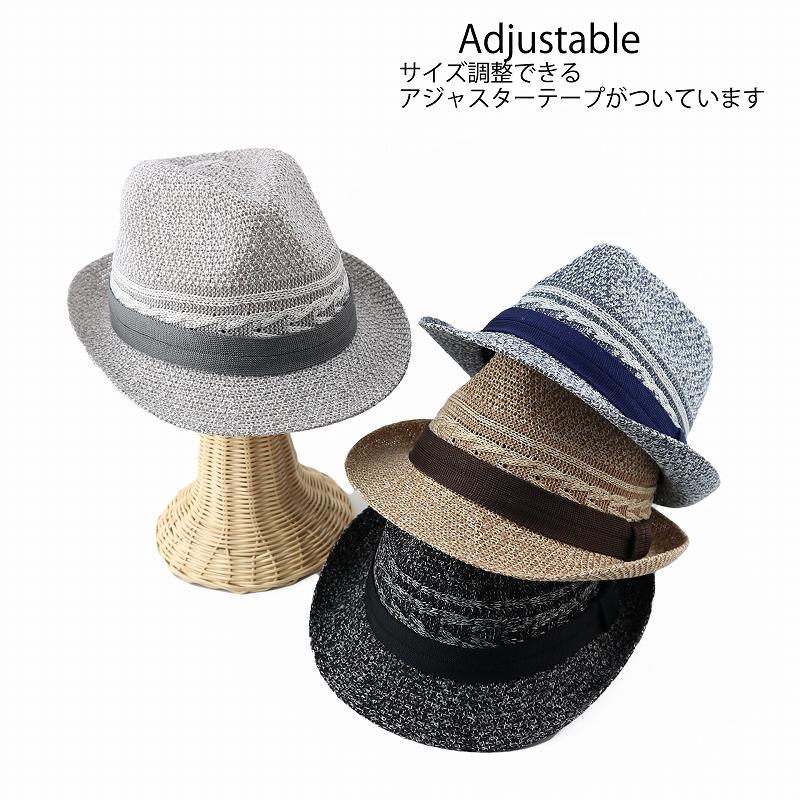 【男女兼用】[2020新作] ロープラインサーモハット 春夏帽子 サイズ調整可