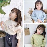 2020春日新品★アイテム★子供シャツ★キッズシャツ★長袖★女の子★可愛い★3色80-130