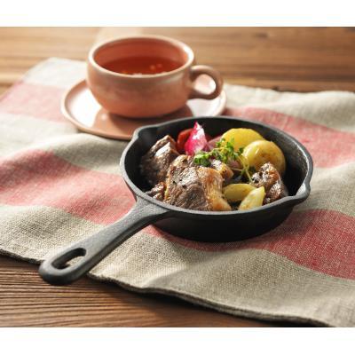 オシャレで便利なスキレット /鍋 IH対応 調理器具 キッチン アウトドア