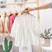 韓国ファッション 韓国子供服  2020春夏新作 子供服  トップス スカート 80-120CM