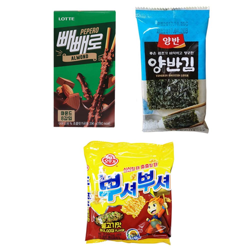 韓国食品 お得マシソヨセットD お菓子 韓国のり アソート