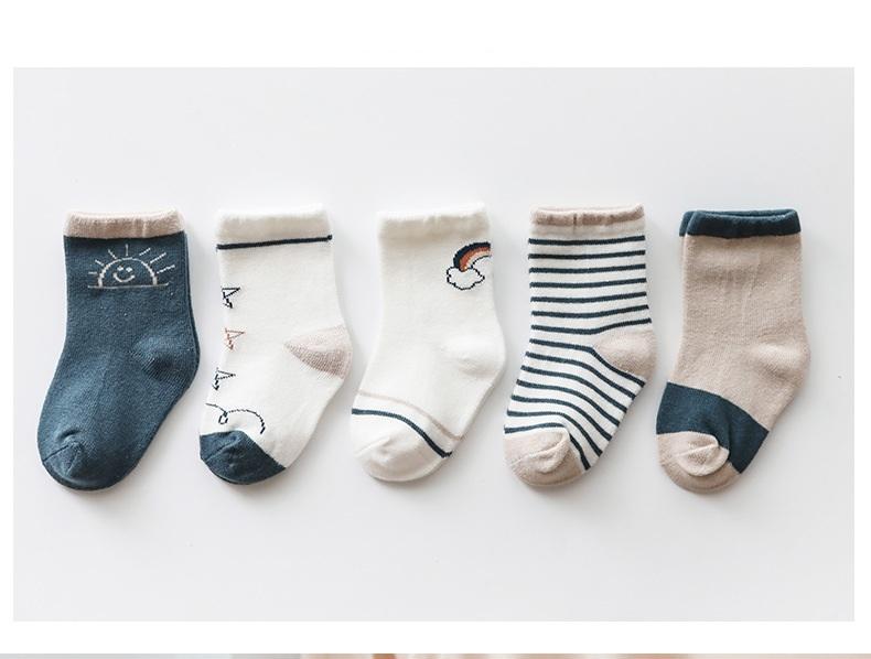 5足 セット 子供 ソックス ベビー用 靴下 ベビー 子供用フォーマルソックス