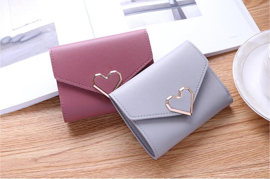 韓国レディース財布 3つ折り  手拿  大容量     多機能    カード入れ   小銭入れ   5色