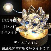 インテリア照明 LEDランプ ディスプレイ オレンジライト ミニサイズ 品番: 11855 [11855]