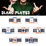 【決算大SALE!!】SLANG PLATE【 CM-PLATE 】【スラング 】【インパクト大!!】