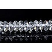 【水晶ボタンカット】2.5x5.5mm 1連(約40cm)[R1648]