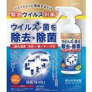 【二酸化塩素+銀イオン配合除菌スプレー】350ml  3月24日頃緊急入荷!