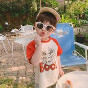 Tシャツ トップス  半袖 夏 人気商品 キッズ 韓国子供服 男女兼用 2020新作 SALE 動画あり m14757
