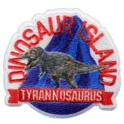 【ワッペン】学研の図鑑ライブ アイロンパッチ ティラノサウルス