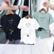 夏新入荷★キッズ男の子★Tシャツ+ショートパンツ★ 90cm-130cm