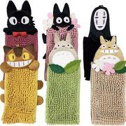 ジブリキャラのお手ふき トトロ・ネコバス・黒猫ジジ・カオナシ