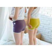 韓国ファッション レディース 女 子供 下着 可愛い パンツ 7色 90-135CM