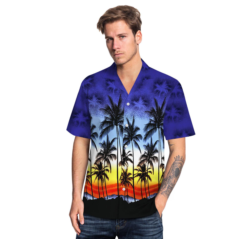 アロハシャツ メンズ 半袖 開襟  花柄 春 夏 カジュアル 上着 大きいサイズ