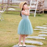 レース ワンピース 無地 キッズ 女の子 韓国子供服 2020新作 SALE ファッション 動画あり