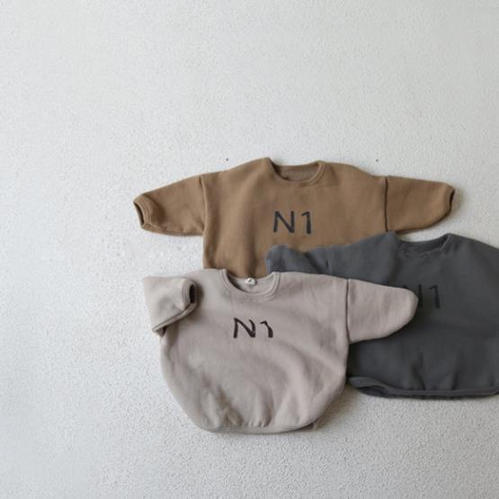 韓国子供服男女兼用子供用韓国ファッショントレーナー80-130トップス 厚手