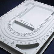 ネックレスデザインボード トレー プレート 制作 製作 測定 計測 資材 ハンドメイド 品番:8002