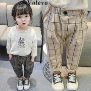 子供服 春夏 パンツ ズボン ロング丈 キッズ 韓国ファッション 女の子 男の子 カジュアル系
