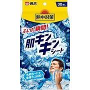熱中対策 肌キンキンシート 30枚 【 桐灰化学 】 【 熱中症・冷却 】