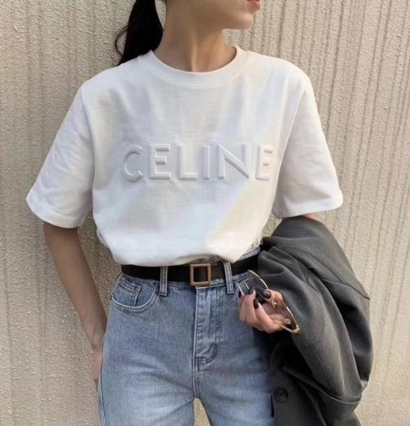 2020 新作 Tシャツ レディース 韓国風 半袖 立体 刺繍 INS オシャレ