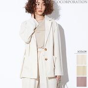 【2020春夏新作♪】レーヨンライク テーラードライトジャケット