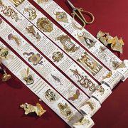 テープ 和紙テープ 金箔テープ DIY デコレーション 雑貨 シール 小物