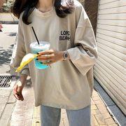 2020新作 トップス Tシャツ レーディス ゆったり デザイン LONG BEACH
