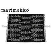 S) 【マリメッコ】ブランケット 70019-910 ブランケット クーシコッサブラック/ホワイト メンズ レディース