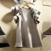 新しいデザイン 2020年春 夏 新作 大人気 Tシャツ 半袖 ラウンドネック 百掛け トップス お出かけ 学生