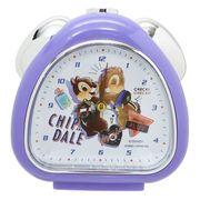 【目覚まし時計】チップ&デール さんかくクロック