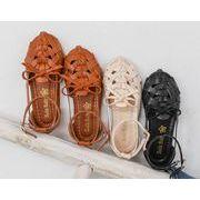 【子供靴】サンダル 女の子 可愛いデザイン ベビー 夏 3色 シューズ キッズ靴