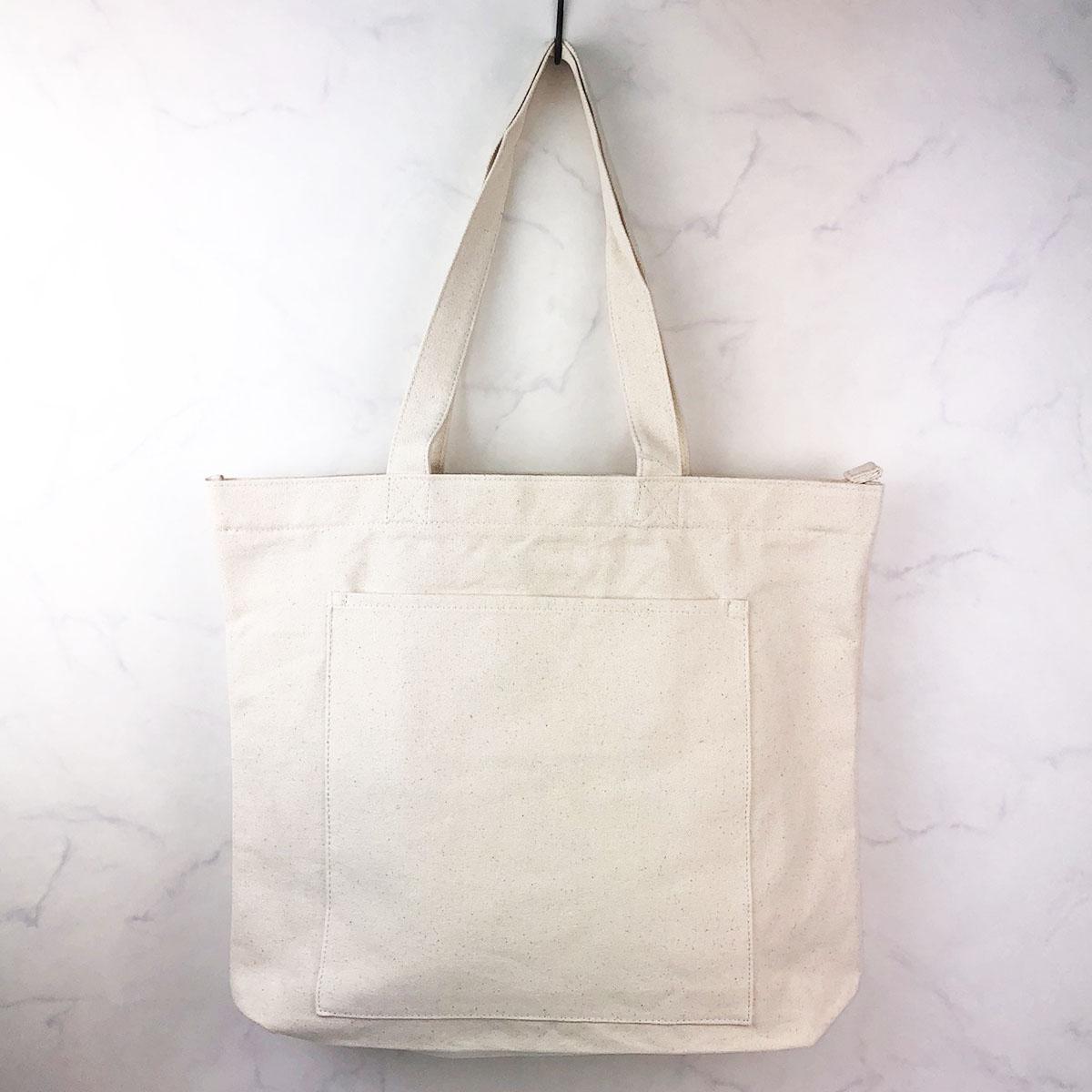 ¥1000 無地キャンバス トートバッグ [無地] / レディース バッグ エコバッグ