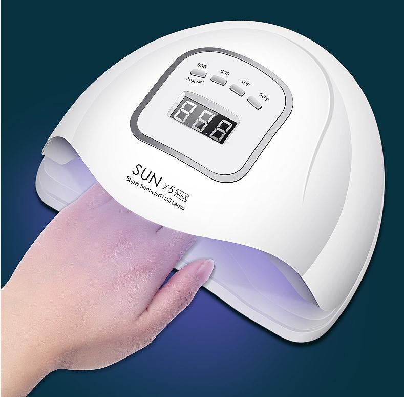 宝来商事 ネイルアート120W光感led機械 業務用ネイル道具 ネイルアート用品