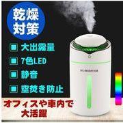 即納 加湿器 次亜塩素酸水  超音波 小型 除菌 空気清浄 10時間連続加湿 USB給電