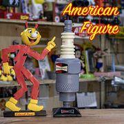 AMERICAN FIGURE アメリカンフィギュア【FEPC】キロワットパワー チャンピオン プラグ