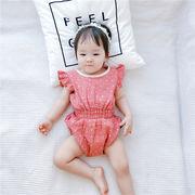 ベビー Tシャツ トップス  連体衣 可愛い 涼しい キッズ 韓国子供服 ファッション 2020新作 SALE