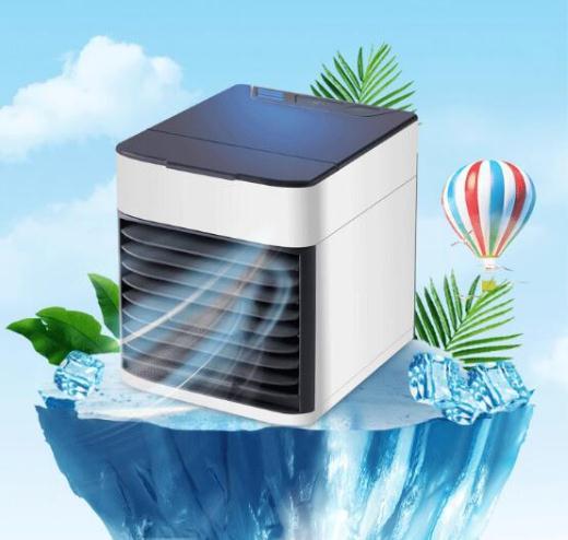宝来商事 クーラー ミニエアコンファン 扇風機 冷風機 卓上冷風機 冷風扇 ポータブルエアコン