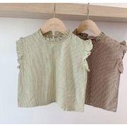 子供シャツ キッズ服 夏 ブラウス  トップス 女の子 可愛い tシャツ 子供服 カジュアル系