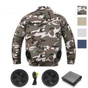 夏 熱中症対策  作業服   空調服   バッテリー ファン 取り付け可能 空調服 長袖 暑さ対策 作業着 工場釣り