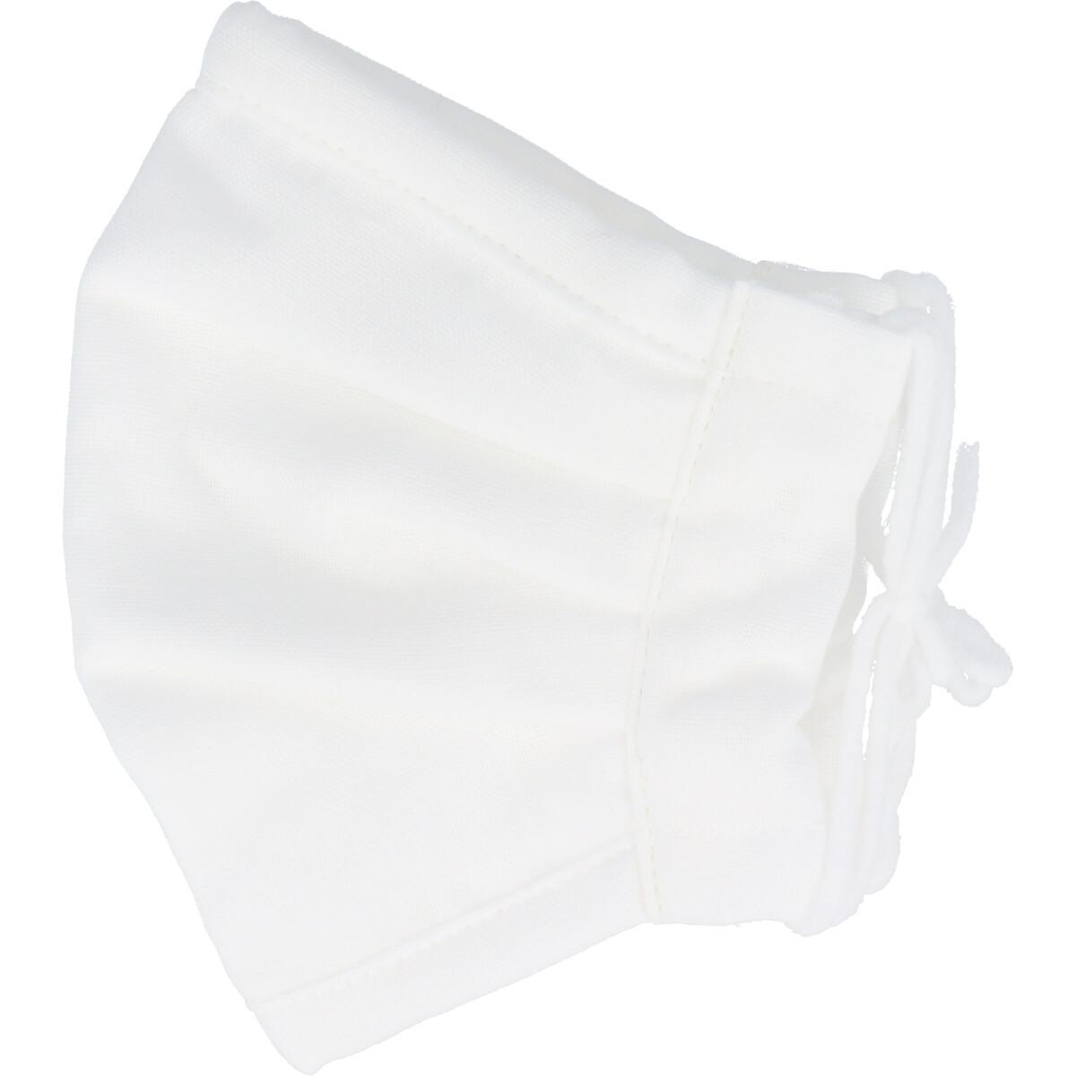 さらふわマスクダイヤドビー 敏感肌用 ホワイト 少し大きめサイズ 1枚入