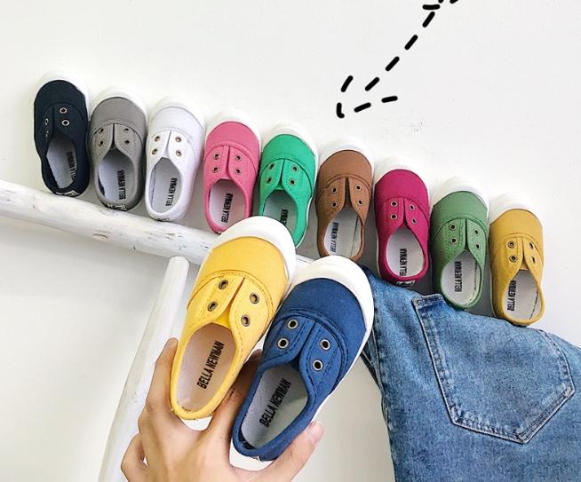 【子供靴】カジュアル系スニーカー メッシュ 春秋 男女兼用 全7色 子供靴 キッズ靴