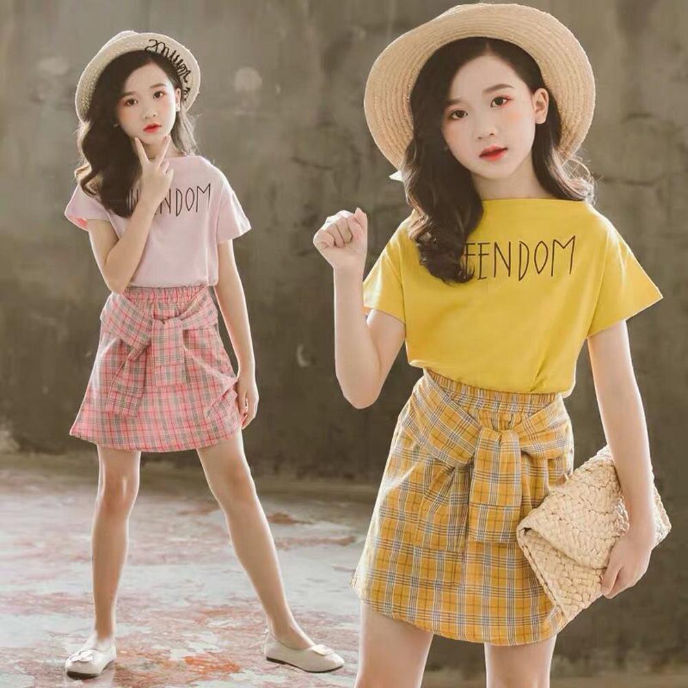 キッズ セットアップ 女の子 半袖 トップス スカート 上下セット 子供服 可愛い 即納
