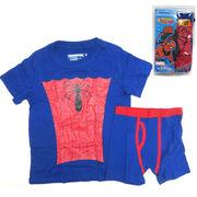 UNDEROOS SPIDERMAN 【スパイダーマン Tシャツ & ブリーフ セット】【キッズ】