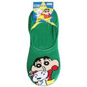 【靴下】クレヨンしんちゃん レディースフットカバーソックス しんのすけ&シロ