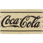 コカ・コーラ バスタオル クラシックベージュ 【アメリカン雑貨】【日本製タオル】