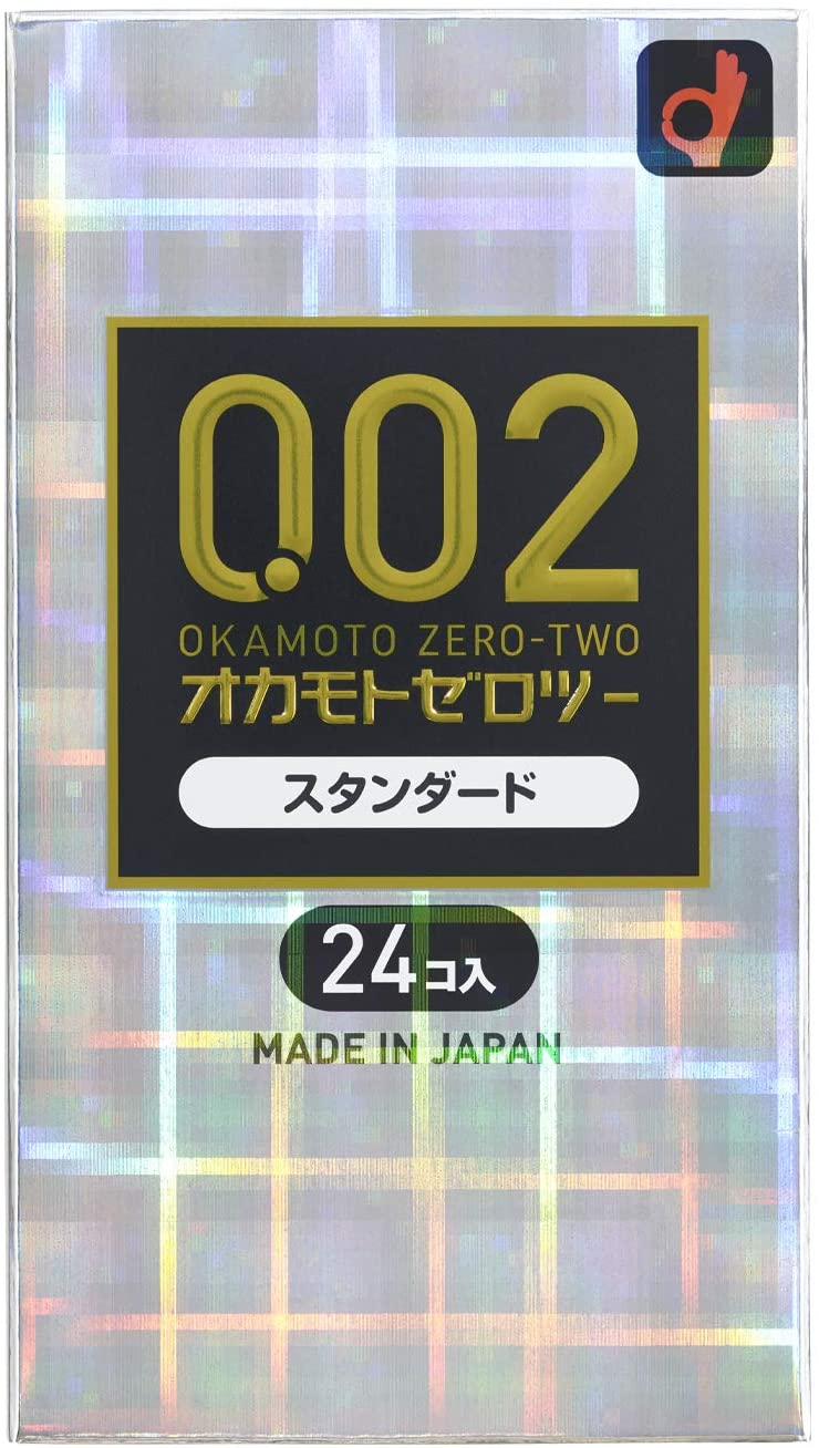 オカモト ゼロツー(0.02)スタンダード 24個入