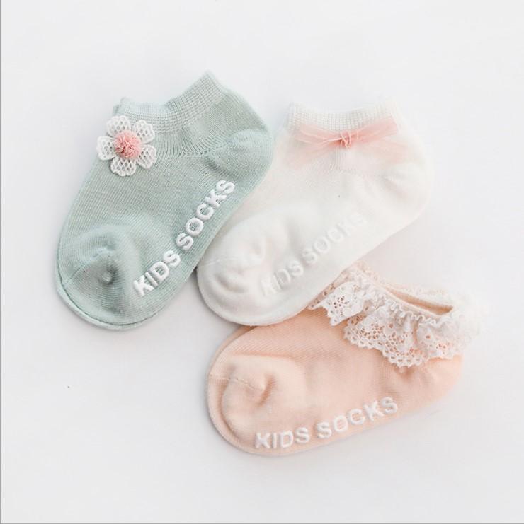 ベビーソックス 1-3歳  可愛い  三足セット 靴下 四組