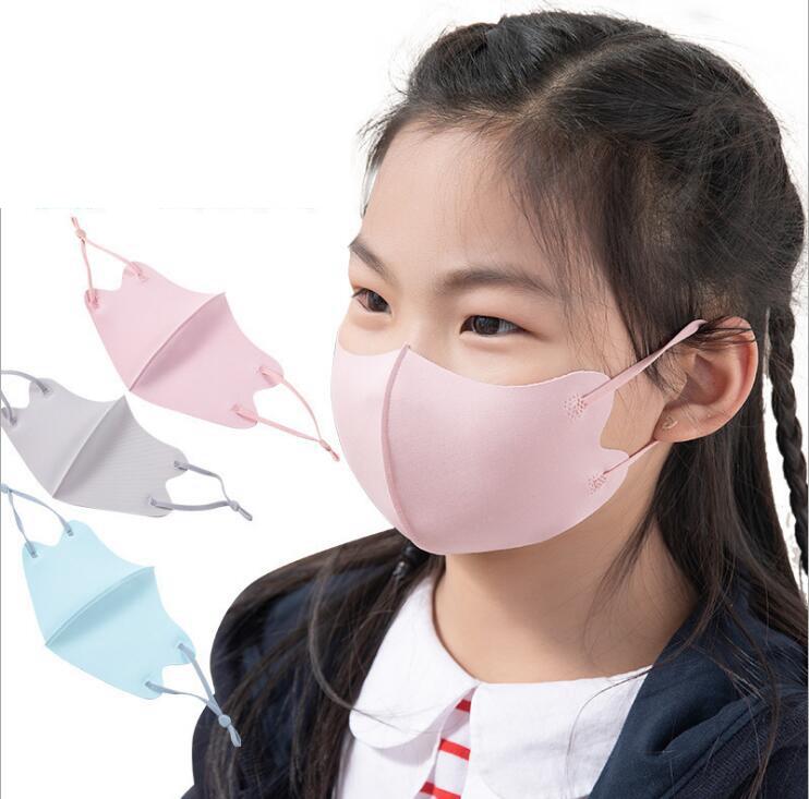 子供用マスク 3-12歳子供用 夏マスク 洗えるマスク 防塵 UVカットマスク 冷感マスク 日焼け防止 立体