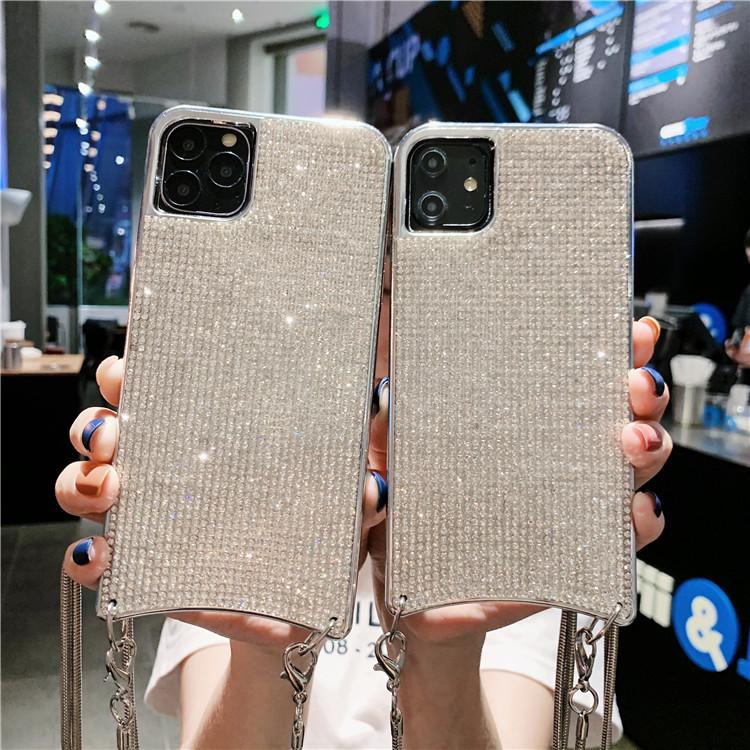 iPhoneケース スマホケース チェーンストラップ アイフォン11 ケース